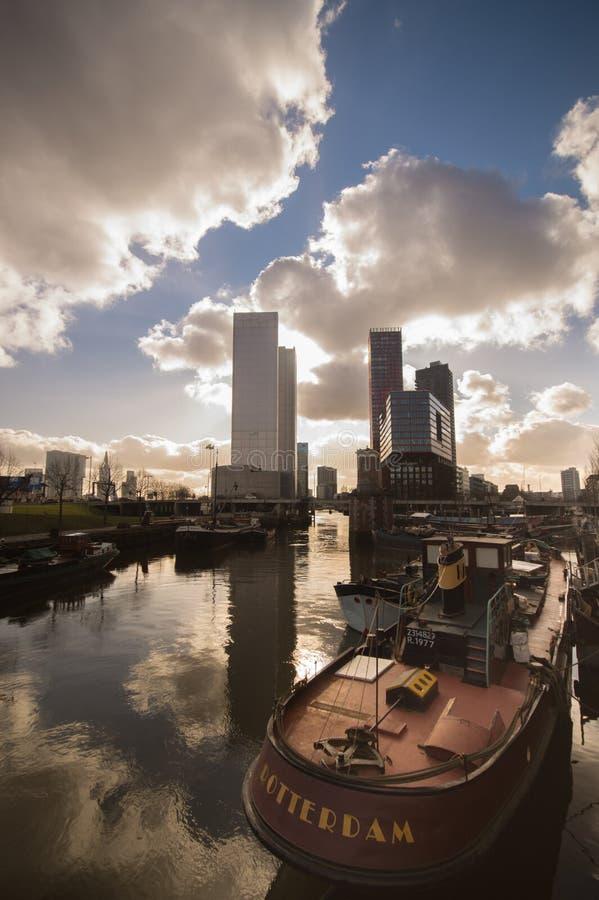 Rotterdam, Netherlands Skyline Free Public Domain Cc0 Image