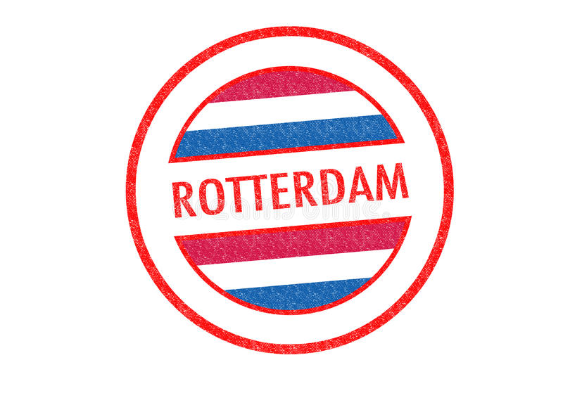 ROTTERDAM vector illustration