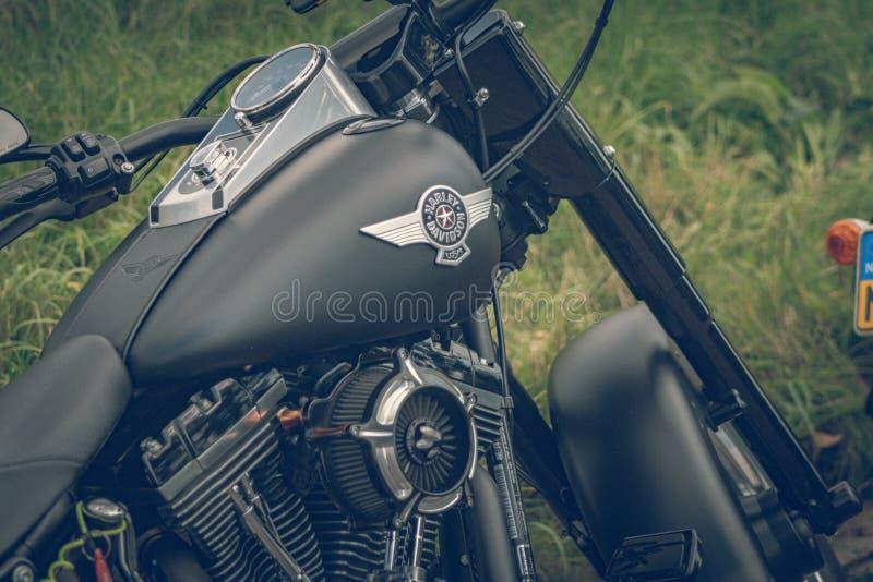 ROTTERDAM, PAYS-BAS - 2 SEPTEMBRE 2018 : Les motos sont shini photos stock