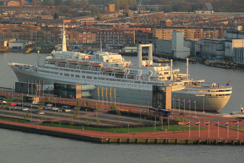 Rotterdam Ship Editorial Photography