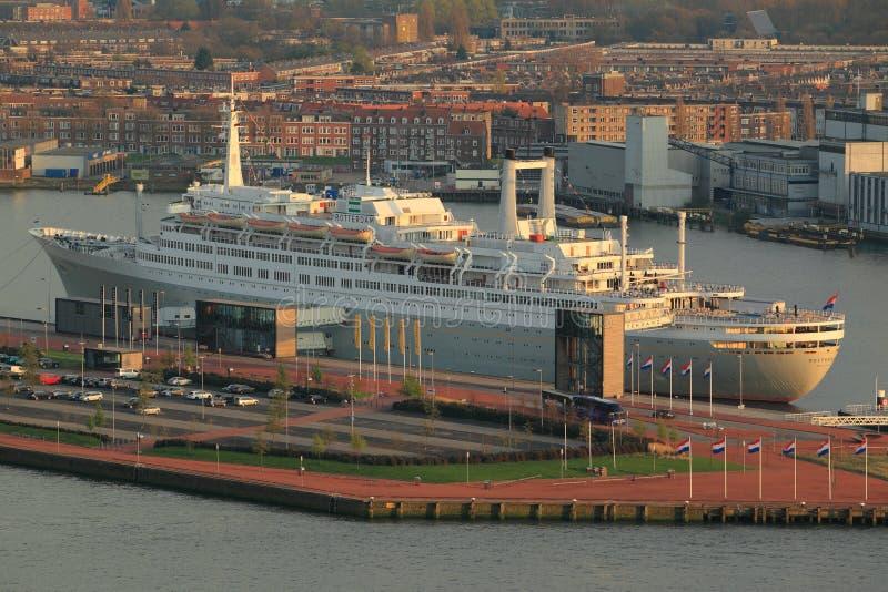 Rotterdam ship royaltyfri fotografi