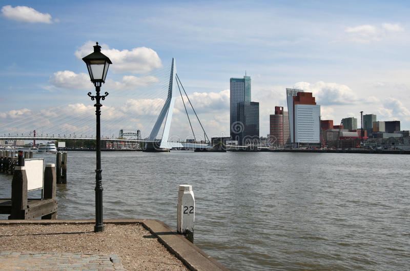 Download Rotterdam Skyline stock image. Image of landmarks, offices - 16017515