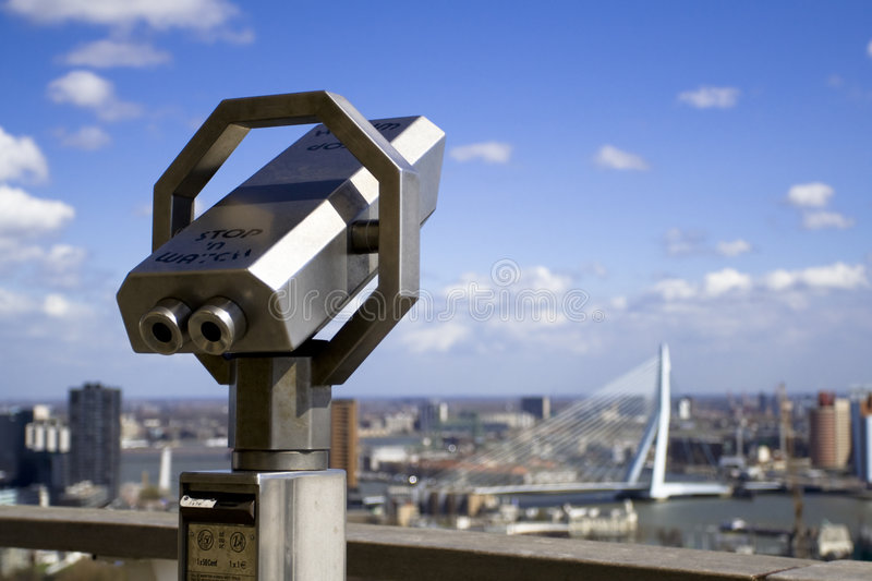Download Rotterdam from the tower stock photo. Image of concrete - 5066492