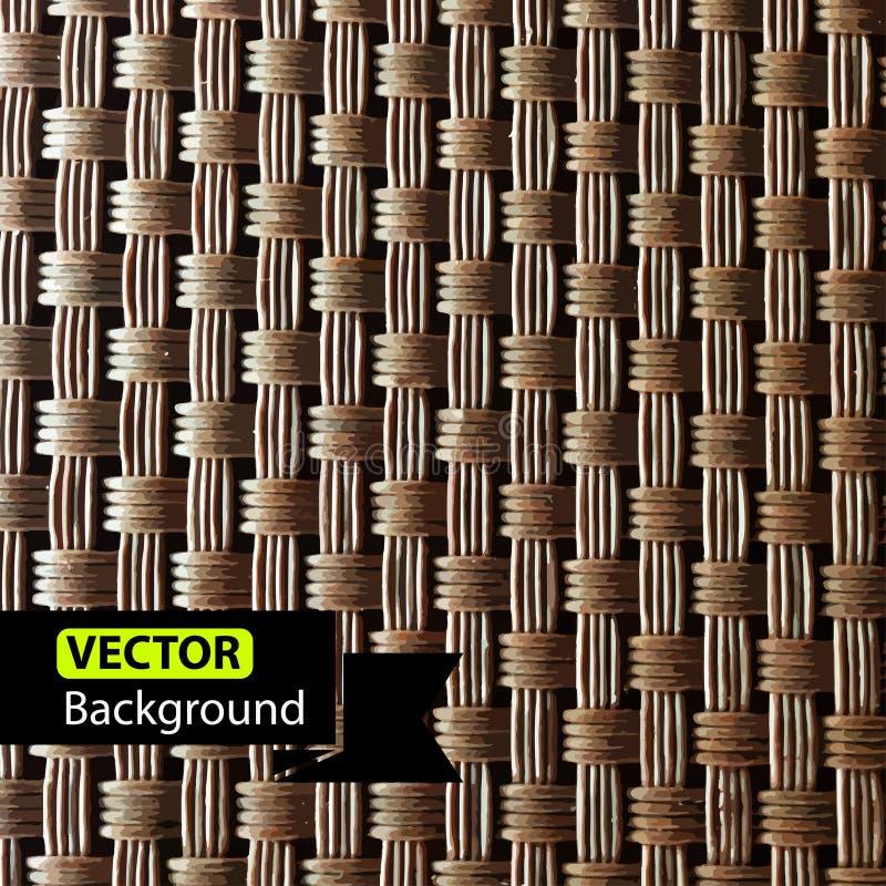rotting Vide- modelltextur, vektorbakgrund royaltyfri illustrationer