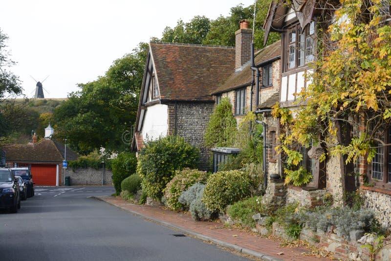 Rottingdean i östliga Sussex. England arkivfoto