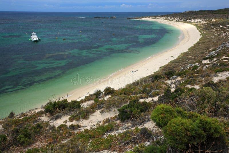 Rottnest海岛,澳大利亚西部 免版税库存照片