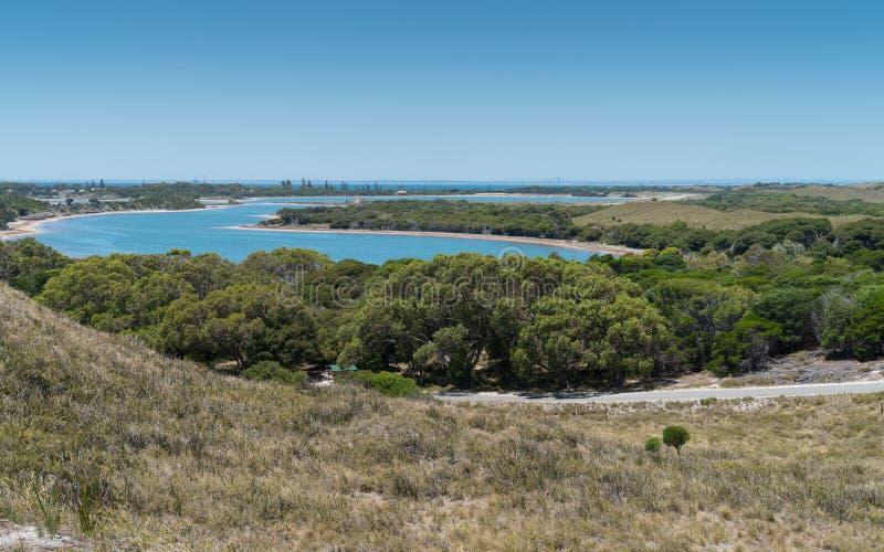 Rottnest海岛,西澳州风景  库存图片