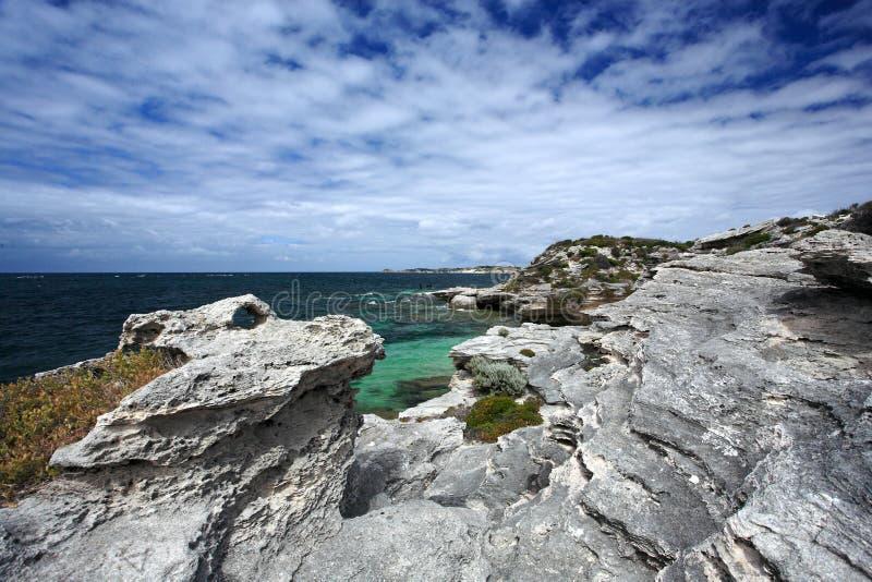 Rottnest ö, västra Australien royaltyfria bilder