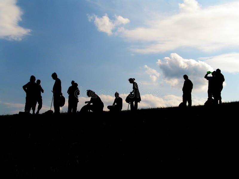 Download Rottura immagine stock. Immagine di climber, rottura, profili - 212319