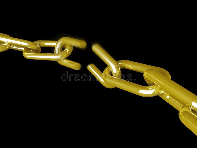 Rottura Chain illustrazione vettoriale