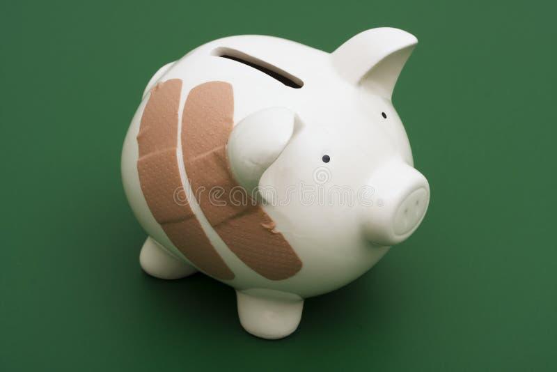 Rottura della Banca immagine stock libera da diritti