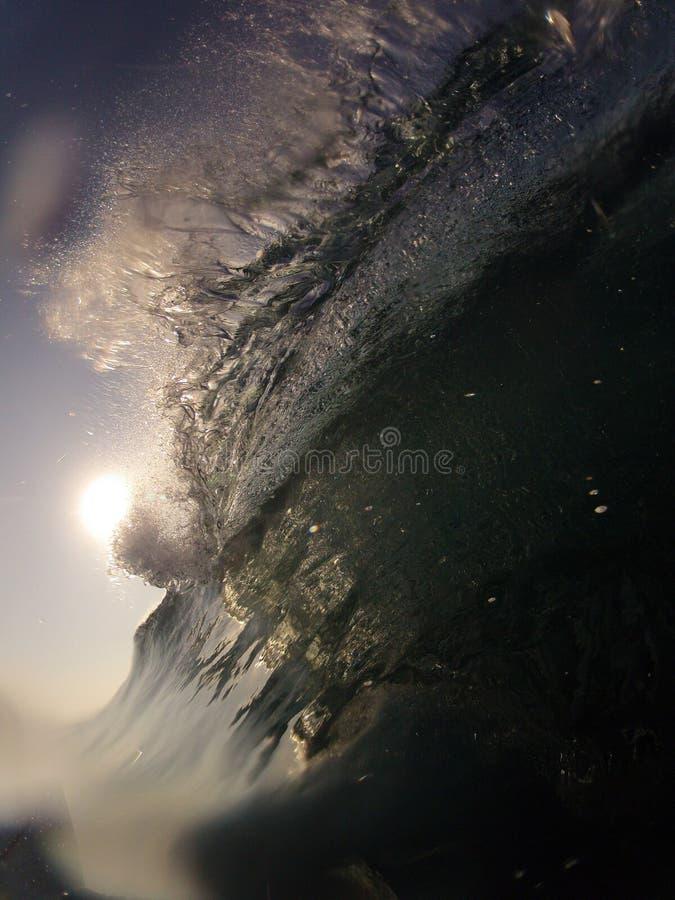 Rottura di Wave fotografia stock libera da diritti