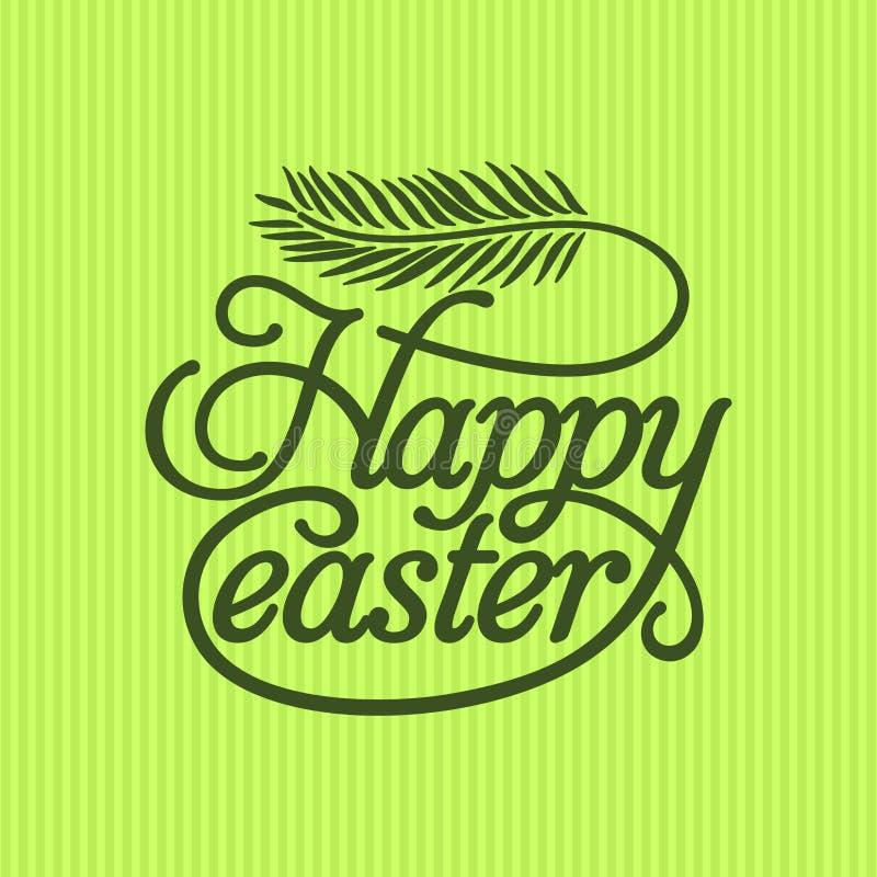 Rotulação da Bíblia Christian Art Easter feliz ilustração royalty free