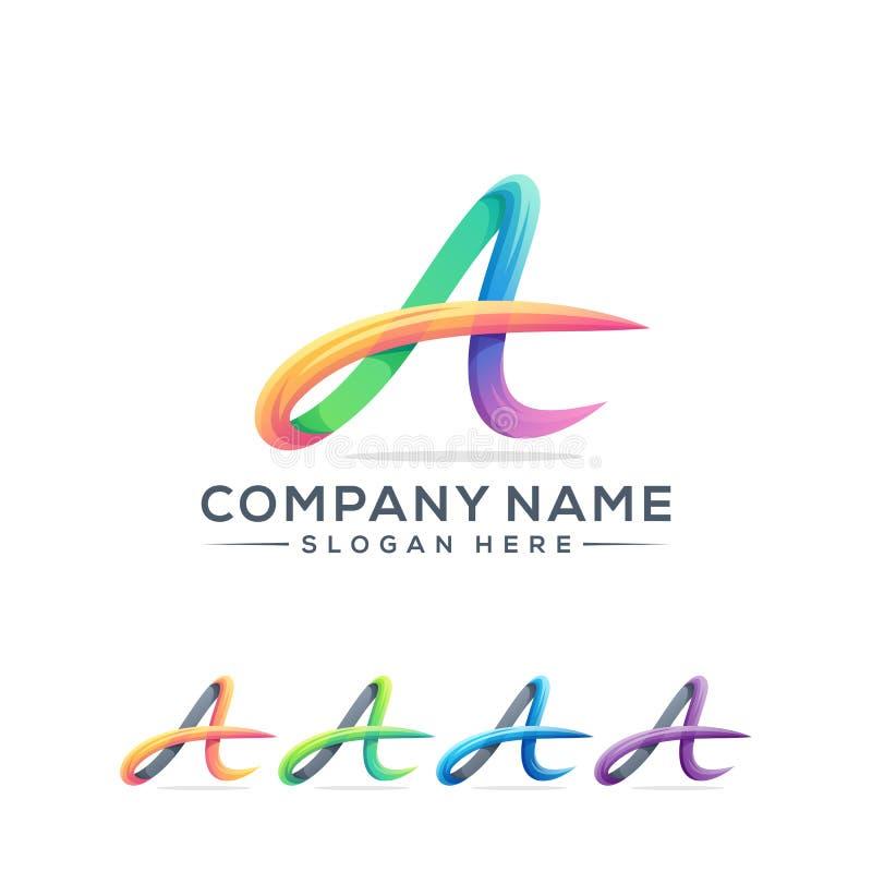 Rotule um projeto do logotipo para sua empresa fotos de stock royalty free