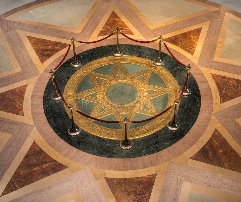 rotunda κράτος αστεριών σφραγίδων ΜΝ capitol στοκ φωτογραφία
