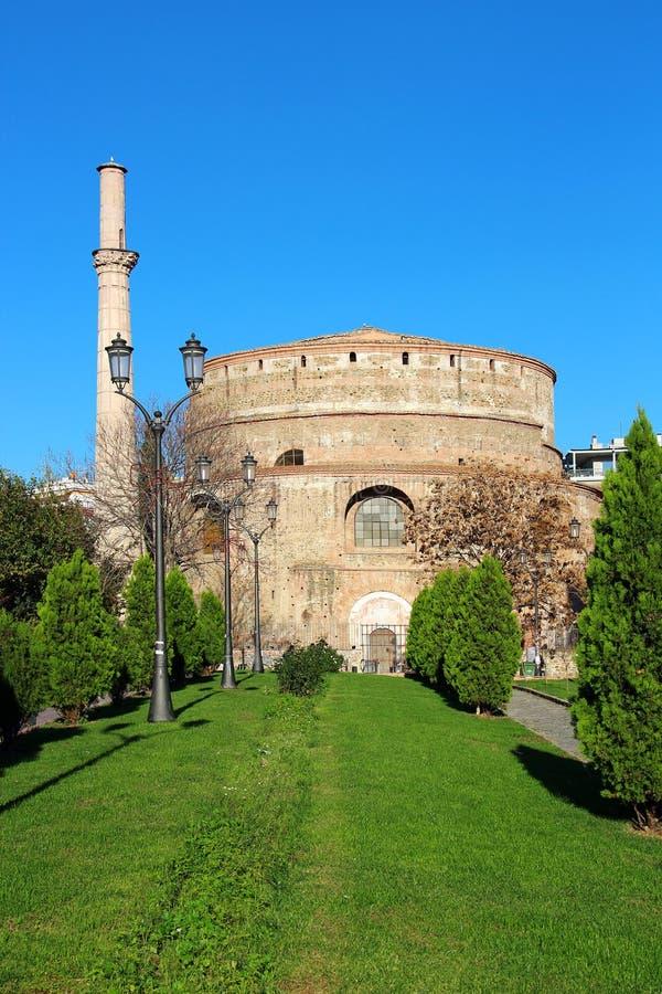 Rotunda του ST George σε Θεσσαλονίκη, Ελλάδα στοκ εικόνα