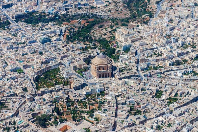 Rotunda av Mosta E r royaltyfri fotografi