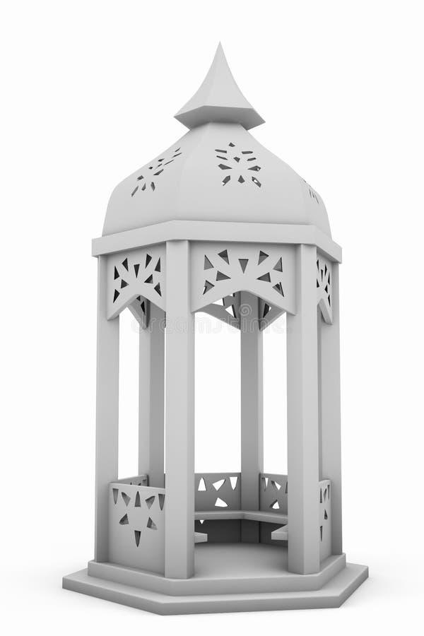 Rotunda branca da rotunda ilustração royalty free