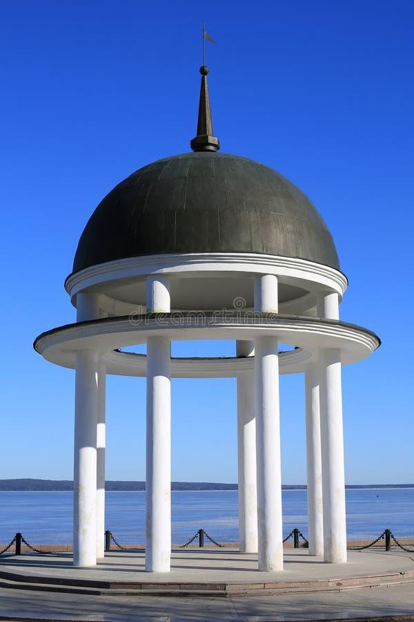 Rotunda branco foto de stock