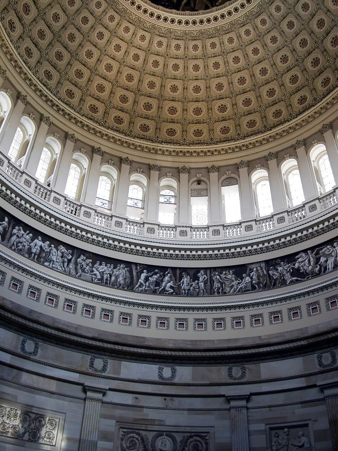 Rotunda capital - DC de Washington images stock