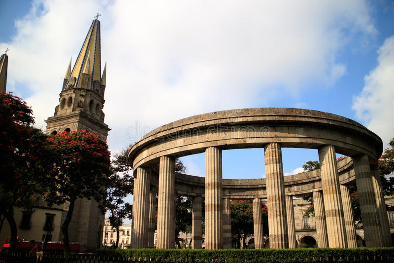 Rotunda de Jalisciences illustre photo libre de droits