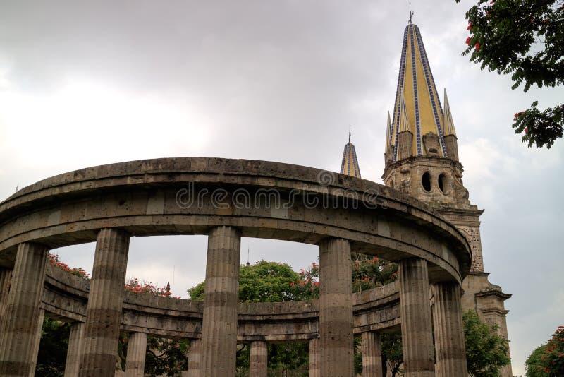 Rotunda de Jalisciences illustre images libres de droits