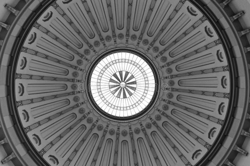 Rotunda do Capitólio de Ohio foto de stock