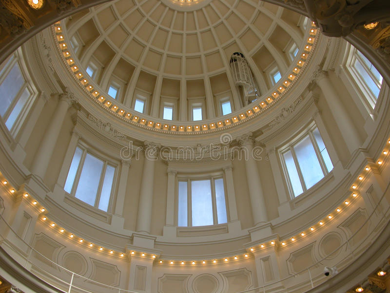 Rotunda för Idaho statKapitolium royaltyfri fotografi
