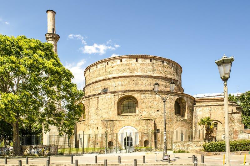 Rotunda Galerius przy Saloniki, Grecja zdjęcia royalty free