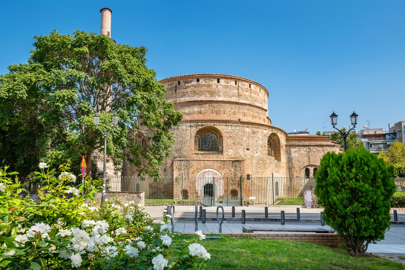 Rotunda of Galerius. Thessaloniki, Greece royalty free stock images