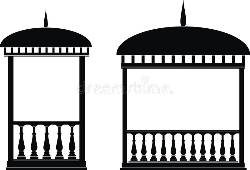 Rotunda (mandril) ilustração stock