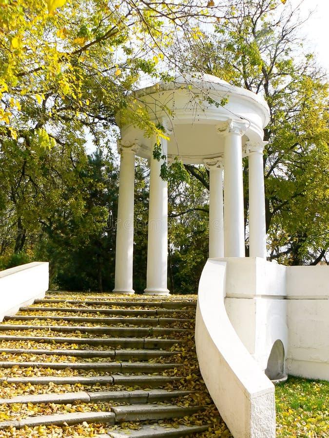 Rotunda nella sosta fotografia stock