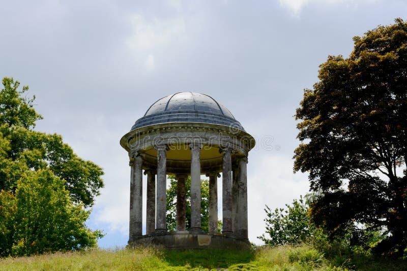 Rotunda, Petworth dom, Zachodni Sussex, Anglia zdjęcia royalty free