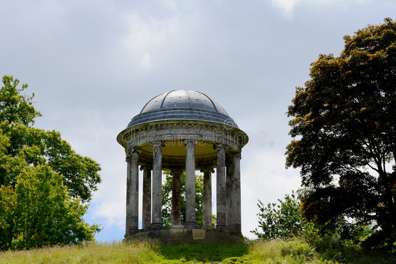 The Rotunda, Petworth House, West Sussex, England. The Rotunda at Petworth House in the parish of Petworth, West Sussex, England, is a late 17th-century Grade I royalty free stock photos