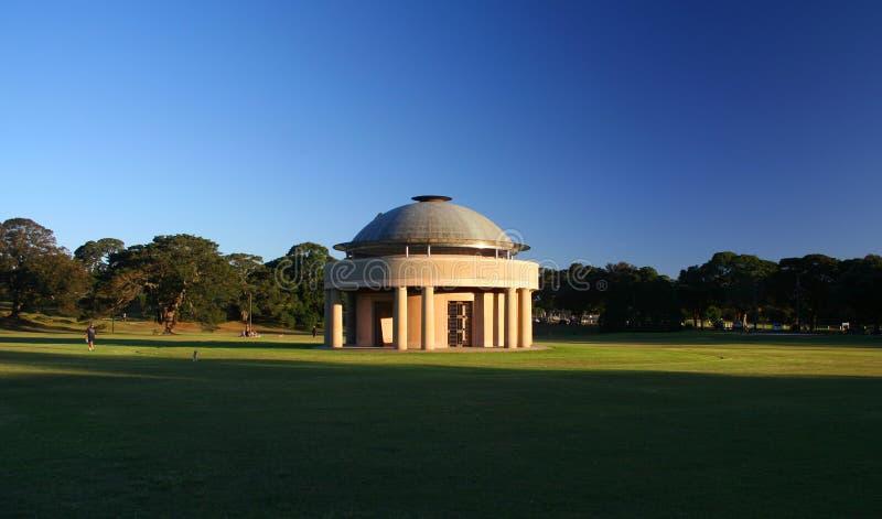 Rotunda in una sosta fotografia stock