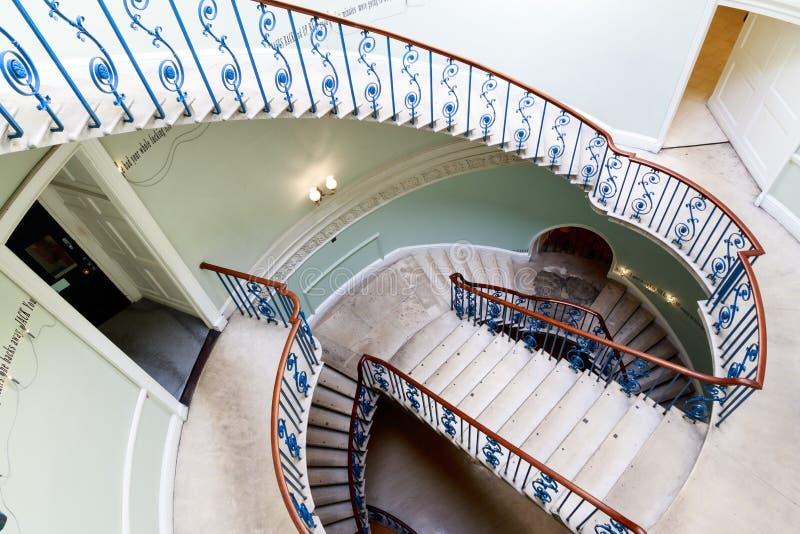 Rotundy Nelson schodek przy Somerset domem zdjęcie royalty free