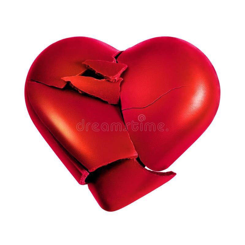 Rotura del corazón imágenes de archivo libres de regalías