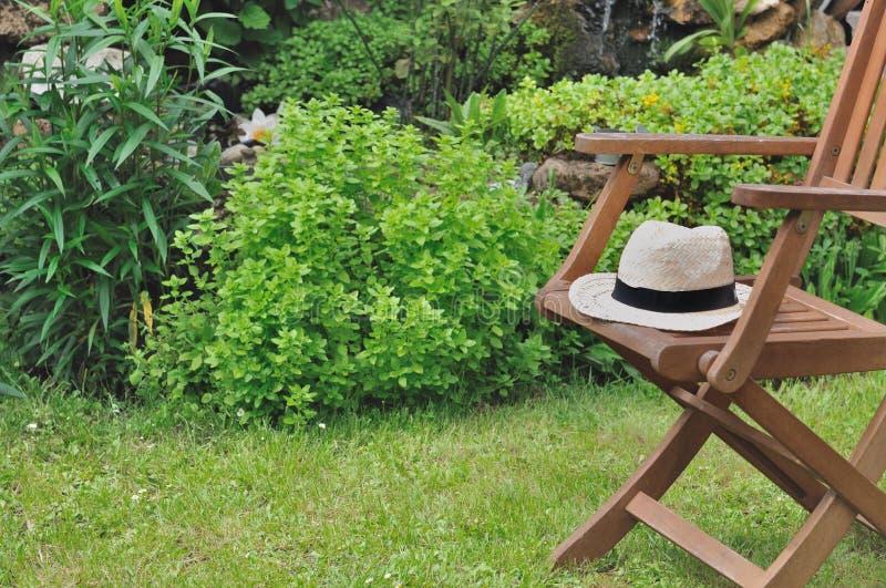 Rotura en jardín foto de archivo libre de regalías