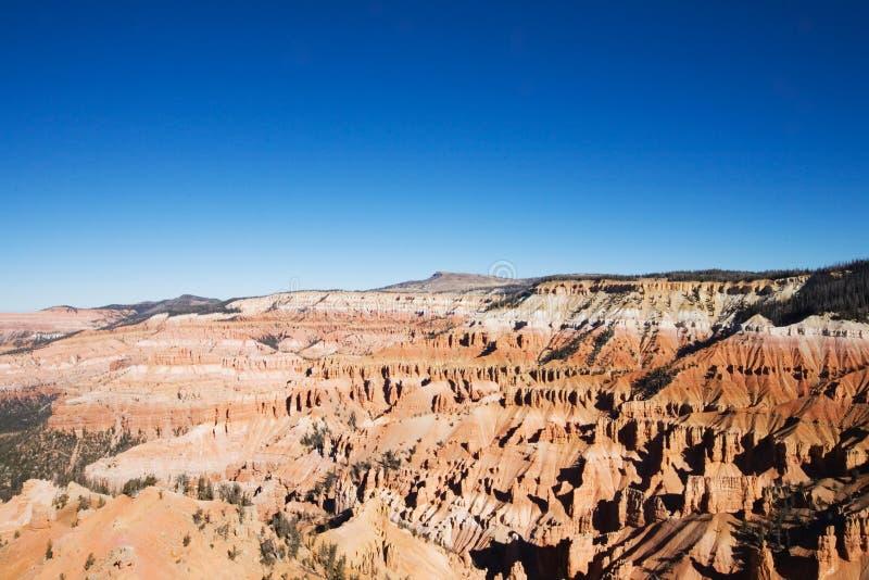 Roturas del cedro en Utah imagen de archivo libre de regalías