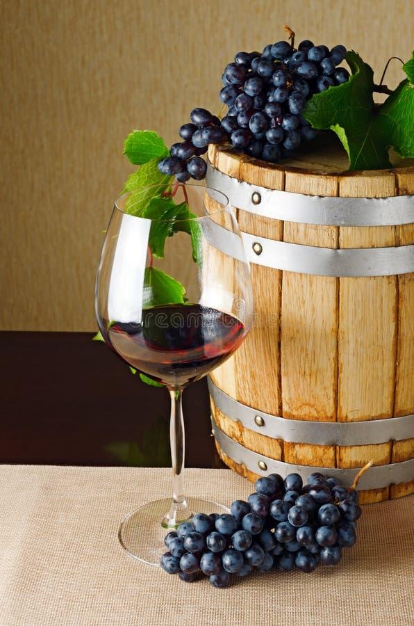 Rotwein stockfoto