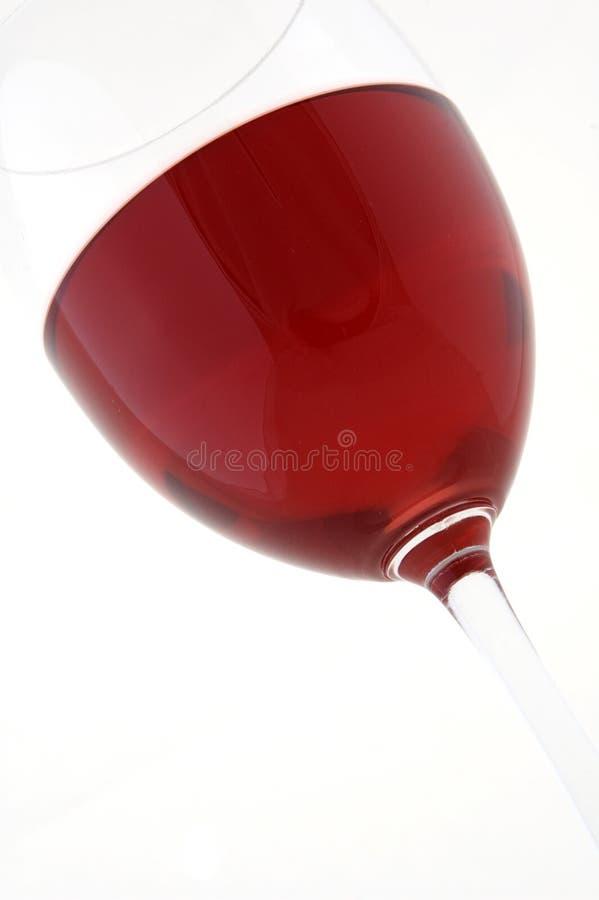 Rotwein Im Glas Lizenzfreies Stockbild