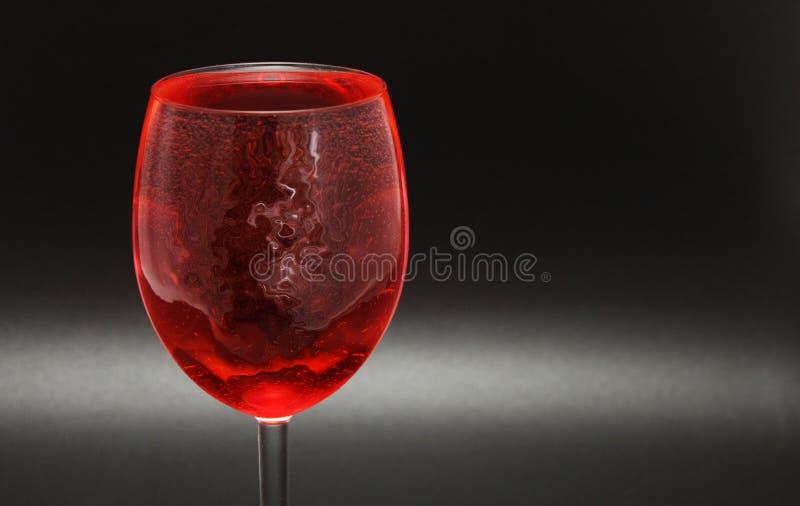 Rotweinglas lizenzfreie stockfotografie