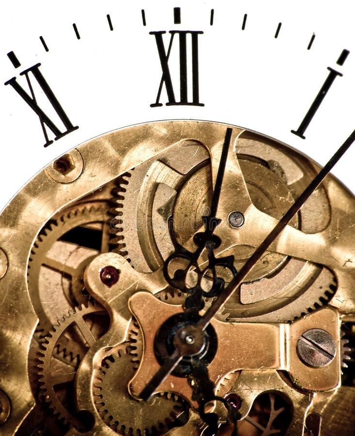 Rouage d'horloge photo stock