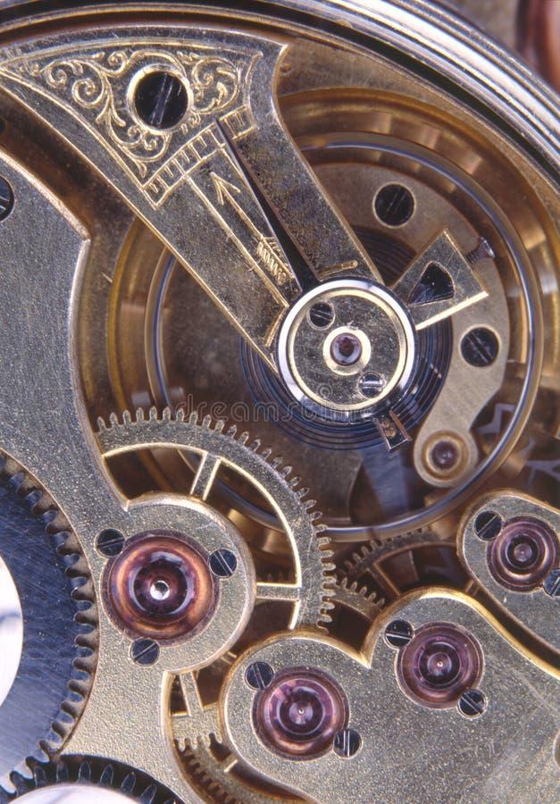 Rouage d'horloge images stock