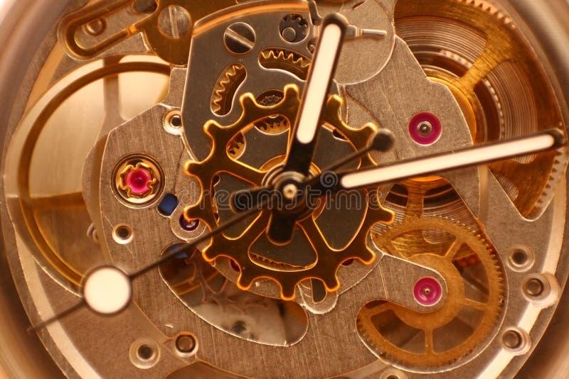 Rouage d'horloge image libre de droits