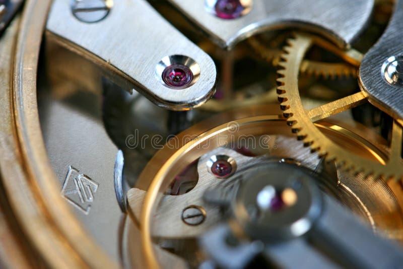 Rouage d'horloge photo libre de droits
