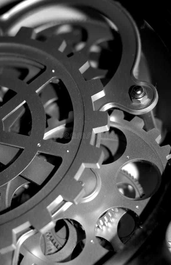 Rouage d'horloge image stock
