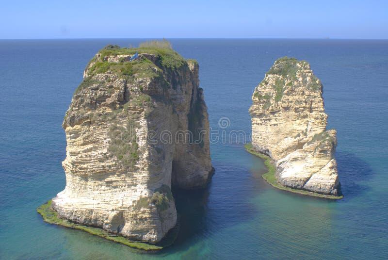 Rouche der Libanon lizenzfreies stockfoto