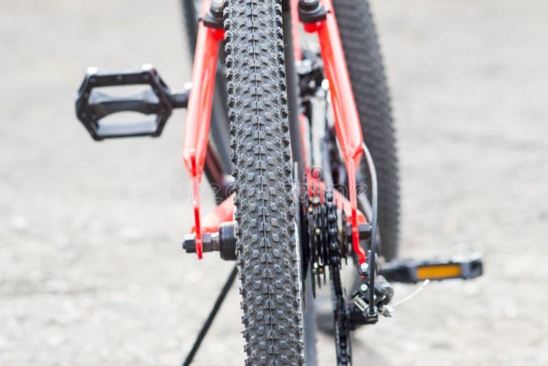 Roue à vélo Fragments d'un vélo photo stock