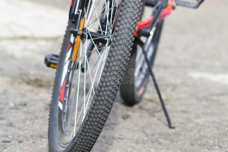 Roue à vélo Fragments d'un vélo image libre de droits